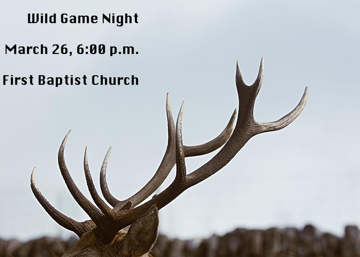 Wild Game Night