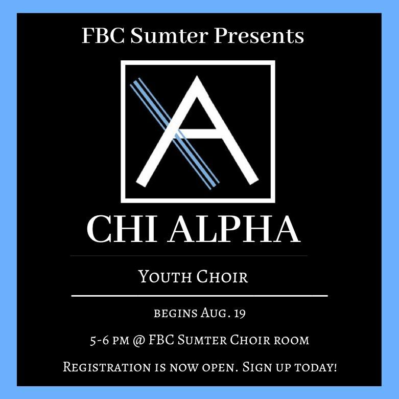 Children's & Youth Choir Registration