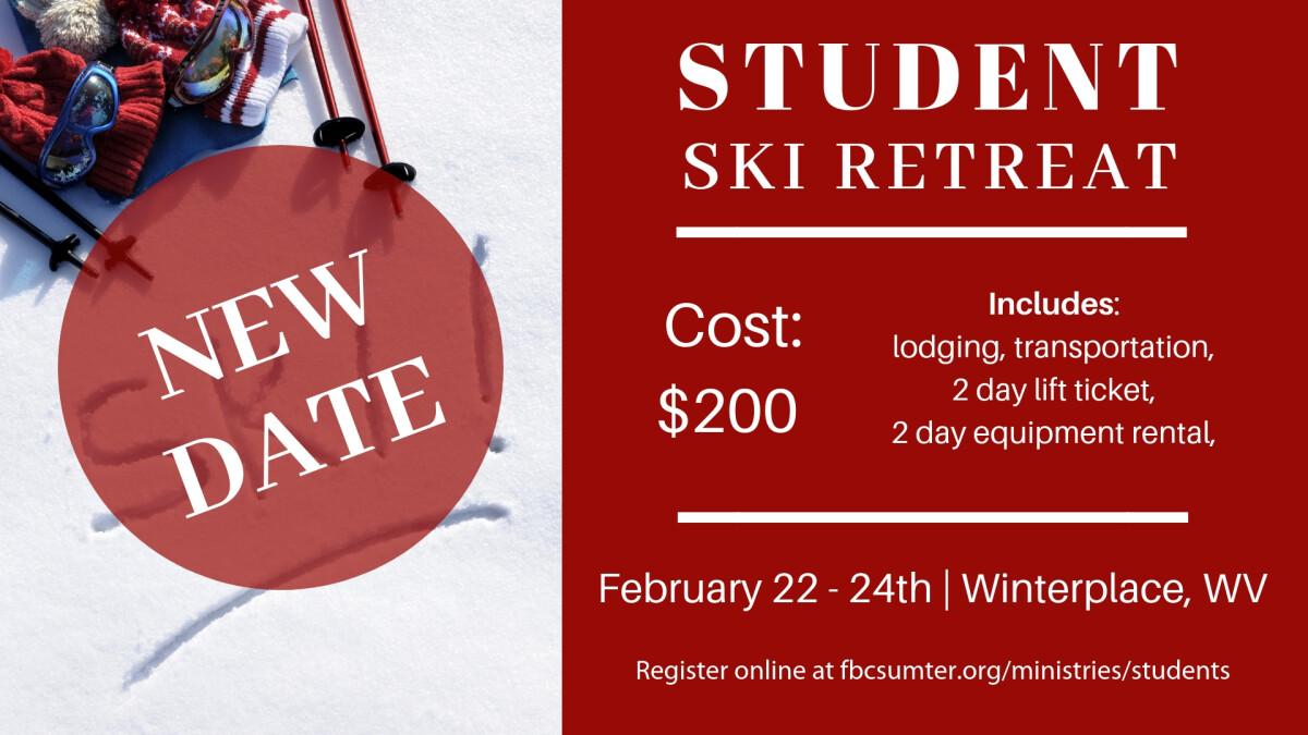 Student Ski Retreat 2019