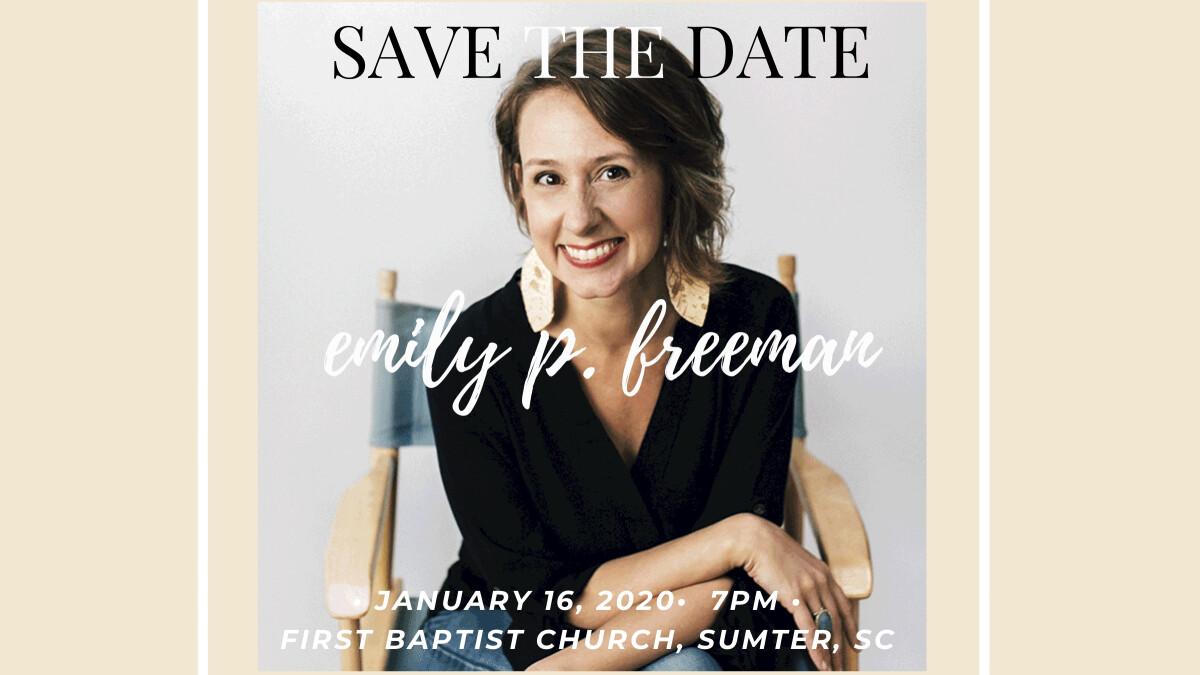 A Night With Emily P. Freeman